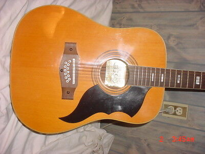 Eko Acoustic guitar 12-string , Stairway model