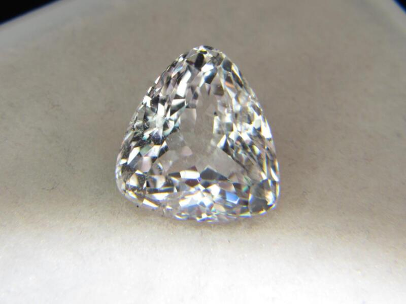 16.45CT VS STUNNING UNTREATED NATURAL WHITE COLORLESS AFGHANISTAN SPODUMENE