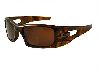 Oakley Sunglasses Crankcase 009165-02 Brown Tortoise frame Dark bronze lens New for sale  Shipping to United States