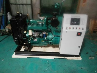New 50000w 50kw 50hz60hz Diesel Powered Generator With Auto Start Ship By Sea