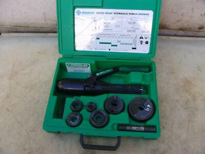 Greenlee 7806 Sb Quick Draw Hydraulic Punch Drive 12 To 2 Inch