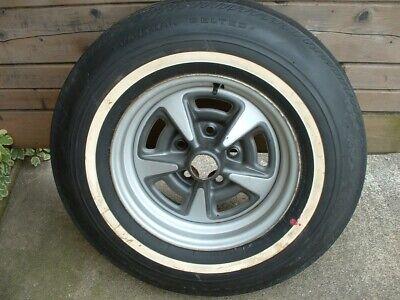 NOS NEW Pontiac Rally Wheel Rim Uniroyal Bonneville Grand Prix Catalina Safari