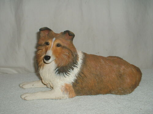 Danbury Mint Sheltie/Shetland Sheepdog Dog Figurine Faithful Friend