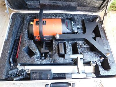 Agl Gradelight 2700 Construction Pipe Laser With Trivet Topcon Spectra Precision