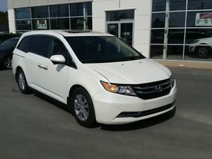 2014 Honda Odyssey EX-L Rear DVD Ent. Leather. Remote Start.