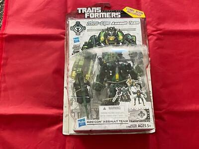 Transformers Generations 30th Anniversary Deluxe Class Mini-Con Assault Team Fig