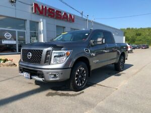2017 Nissan Titan PRO 4X CC    $367 BI WEEKLY JUST IN