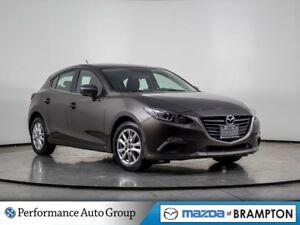2016 Mazda Mazda3 Sport GS. MANUAL. CAMERA. HTD SEATS. BLUETOOTH