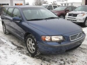 2002 Volvo V70 2.4L 5cyl AWD AC Sunroof Htd Leather