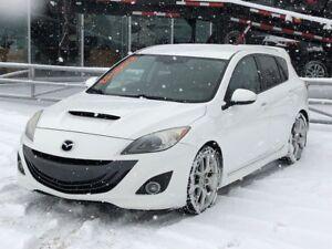 2010 Mazda Mazdaspeed3 GT*TECH*GPS*MAN*CUIR*AC*BLUETOOTH*CRUISE*