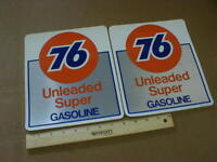 Vintage SINCLAIR Unleaded Gasoline Gas Pump Decal Stickers Lot of 6