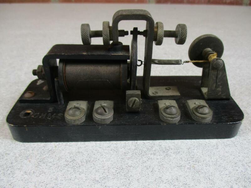 Antique Signal Relay  Western Union Telegraph 3-D 5 ohm