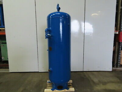 Brunner 56450 130 Gallon Vertical Compressed Air Receiver Tank 200 Psi