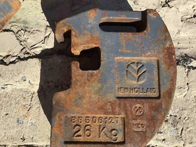 New Holland 26 Kg 57 Lb Stamped Suitcase Weight 86506127 For Skid Steers More