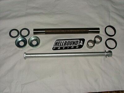 Yamaha Warrior 350 1897-2004 complete swingarm bearing pivot bolt bushing set