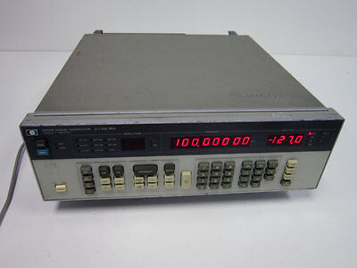 Hp Agilent 8656b 0.1 - 990 Mhz Signal Generator Option 002