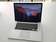 TOP SPEC MacBook Pro 15-inch + Belkin Stand + clear shell case Southport Gold Coast City Preview