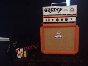 Orange Tiny Terror + Case + 15w Amp + Ext Valve Set (cost $1,100) Kensington South Perth Area Preview