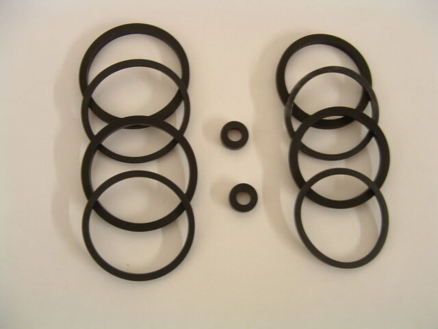 triumph tt600 & speed four 4 front brake caliper seals genuine