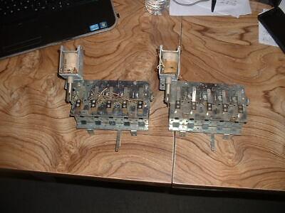 - Two Gottlieb 5 Bank Drop Target Units - pinball parts/pinball machines