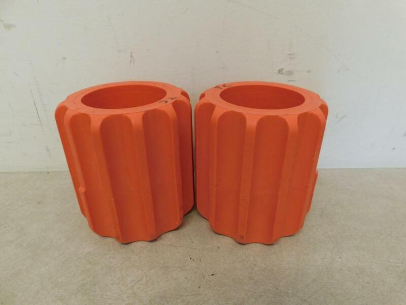 Set of 2 Conical Bottom Centrifuge Swing Bucket Adapters