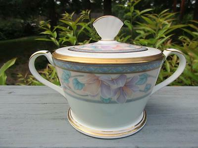 Noritake  Embassy Suite  Covered Sugar Bowl   Euc