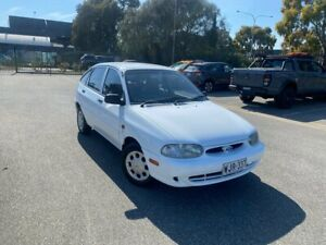 2000 Ford Festiva WF GLXi White 4 Speed Automatic Hatchback Mile End South West Torrens Area Preview