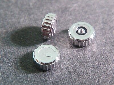 Gucci crown 4.9mm stainless steel, NEW, for watch repair