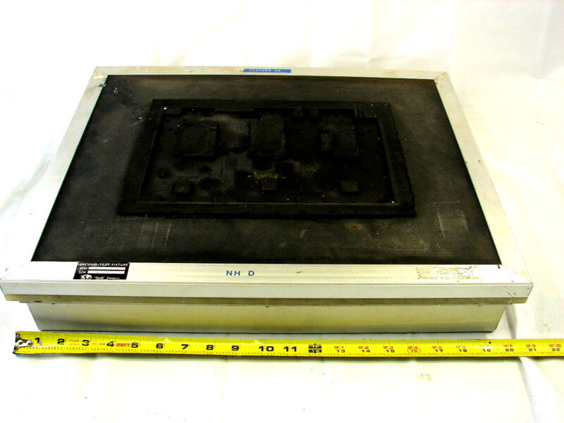 WORLD ENTERPRISES WE-3301-G2 VACUUM TEST FIXTURE ***XLNT***