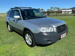2006 Subaru Forester 79V MY06 X AWD Luxury Silver 4 Speed Automatic Wagon Woongoolba Gold Coast North Preview