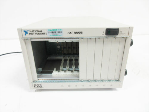 NATIONAL INSTRUMENTS PXI-1000B 184607B-01 8-SLOT 4U PXI CHASSIS
