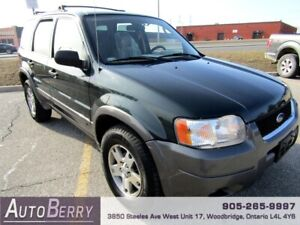 2004 Ford Escape XLT FWD ***CERTIFIED ACCIDENT FREE***