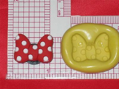 Minnie Bow Flexible Silicone Mold Candy A615 Fondant Chocolate Craft - Bow Candy