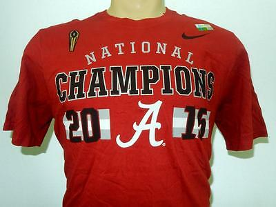 Nike Men Alabama Crimson Tide National Championship Football Liscenced Shirt  Championship Football Shirts