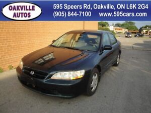 1998 Honda Accord EXL/AC WORK/NEW TIERS/LEATHER SUNROOF/HEATED S