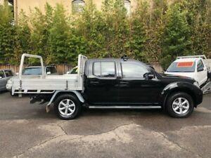 2013 Nissan Navara D40 MY12 ST (4x4) Black 5 Speed Automatic Dual Cab Pick-up
