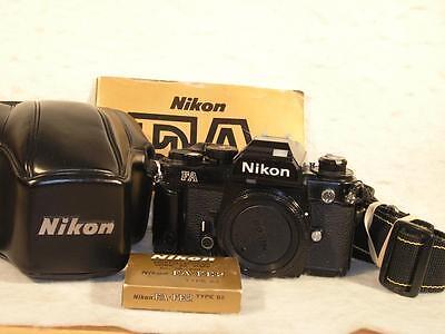 Nikon FA 35mm SLR Camera Body + More