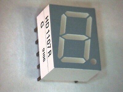 7-Segment Anzeige LED Display 10mm HD1107R ROT gem. Kathode