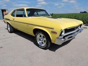 1971 Chevrolet Nova SS 350/4 speed. #'s Matching