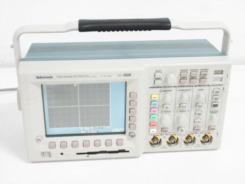 TEKTRONIX TDS3054B OSCILLOSCOPE 500 MHZ 5.0 GS/S COLOR TDS 3AAM MODULE 3TRG 3FFT