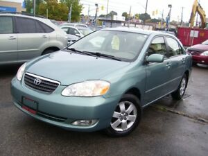 2005 Toyota Corolla LE,POWER GROUP,ONE OWNER,NO ACCIDENT,FOG LIG