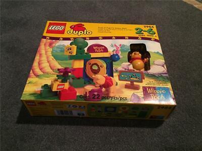 "LEGO Duplo #2984 ""Pooh N' Piglet's Honey Hunt"" - In Original Opened Box"