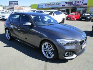 2017 BMW 1 Series F20 LCI 118i Steptronic Sport Line Grey 8 Speed Sports Automatic Hatchback Kedron Brisbane North East Preview