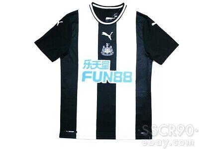 PUMA Newcastle United 2019/20 Home Football Shirt Soccer Jersey 756297-01 Small image