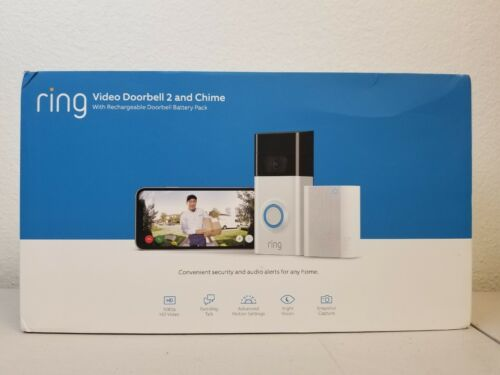 Ring Video Doorbell 2 and Chime