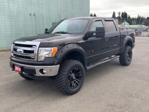 "2014 Ford F-150 XLT CrewCab 4X4 + 6"" Lift + 35"" Tires"