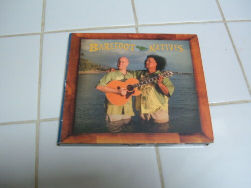 """HAWAII """"BAREFOOT NATIVES - UNCLE WILLIE K & ERIC GILLIOM"""" LOCAL MUSIC CD"""