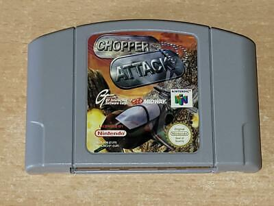 Chopper Attack N64 Nintendo 64 UK PAL (Cart Only) **FREE UK POSTAGE**