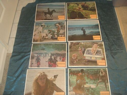 Sheena Queen of the Jungle Lobby Cards 1984