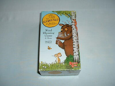 THE GRUFFALO *COMPLETE* Word Rhyming Card Game In Box (JULIA DONALDSON/BOOK) for sale  Shipping to Nigeria